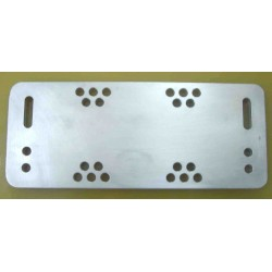 Boom-element joint plate  for yagi elements 10-12-15-17-20m