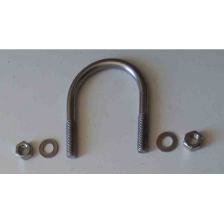SS U bolt for 55-60mm round tube