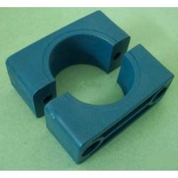 Collares de plástico para tubos de 40 mm.