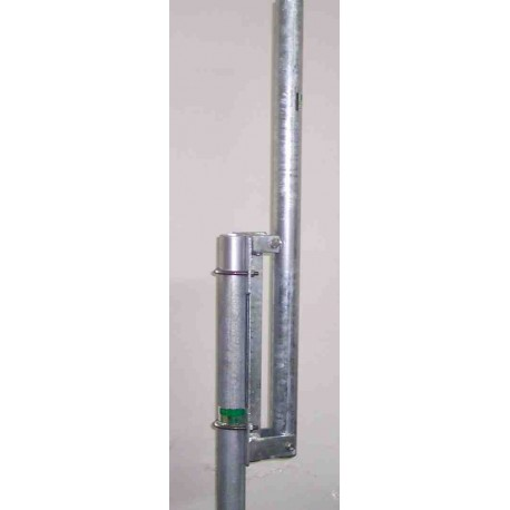 Base abbattibile per antenna verticali  o  V (maschio)