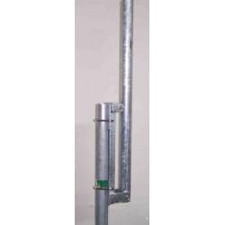 Base abbattibile per antenna verticali  o  V (affiancata)