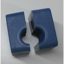 Collares de plástico para tubos de 8 mm.