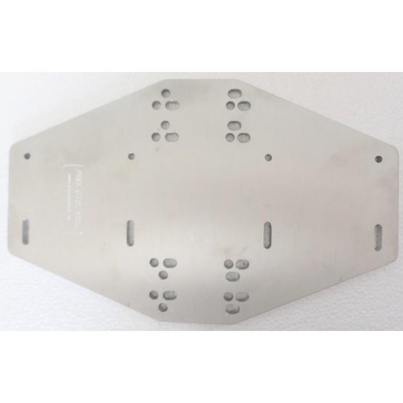 Boom-mast 80-60mm interface plate - Pro Sis Tel  di Fiume Annamaria