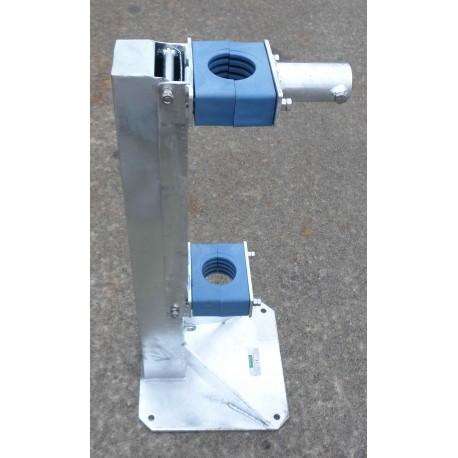 Base abbattibile per antenna verticali Heavy Duty