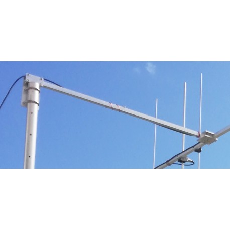 Offset arm  for lightweight V-UHF yagi mounting